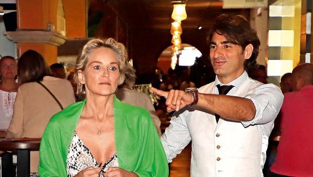 Sharon Stone na počitnicah z 19 let mlajšim (foto: Profimedia)