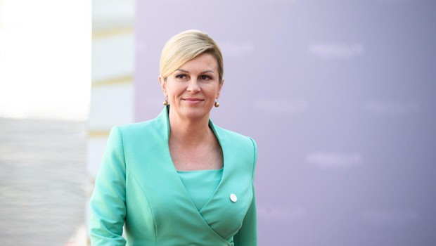 Hrvaška predsednica z novo pričesko (foto: Profimedia)