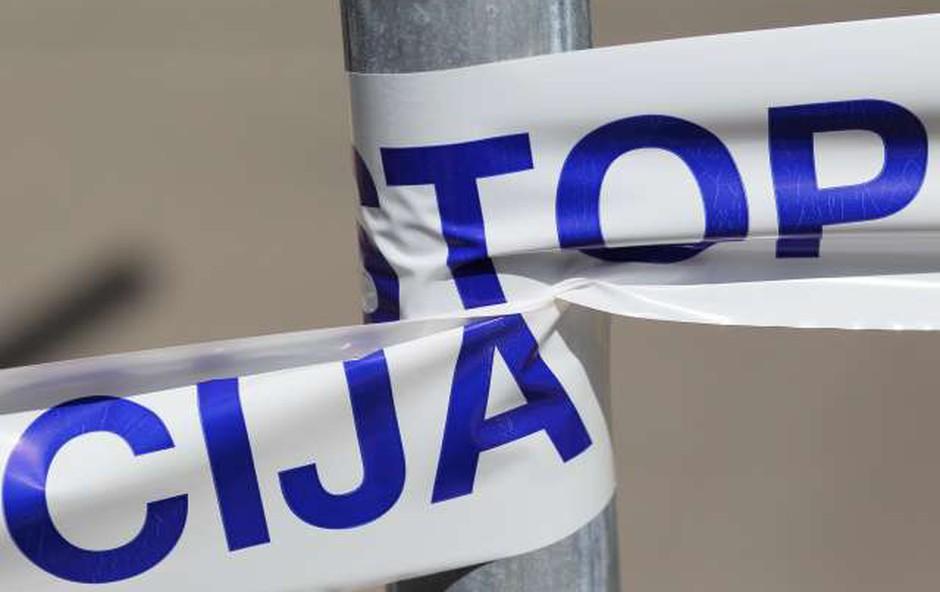 V Debru je prišlo do prometne nesreče s smrtnim izidom (foto: Danijel Novaković/STA)