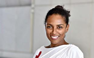 Irena Yebuah Tiran je začela teči zaradi nesreče prijateljice