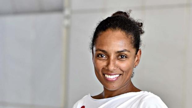 Irena Yebuah Tiran je začela teči zaradi nesreče prijateljice (foto: Igor Zaplatil)