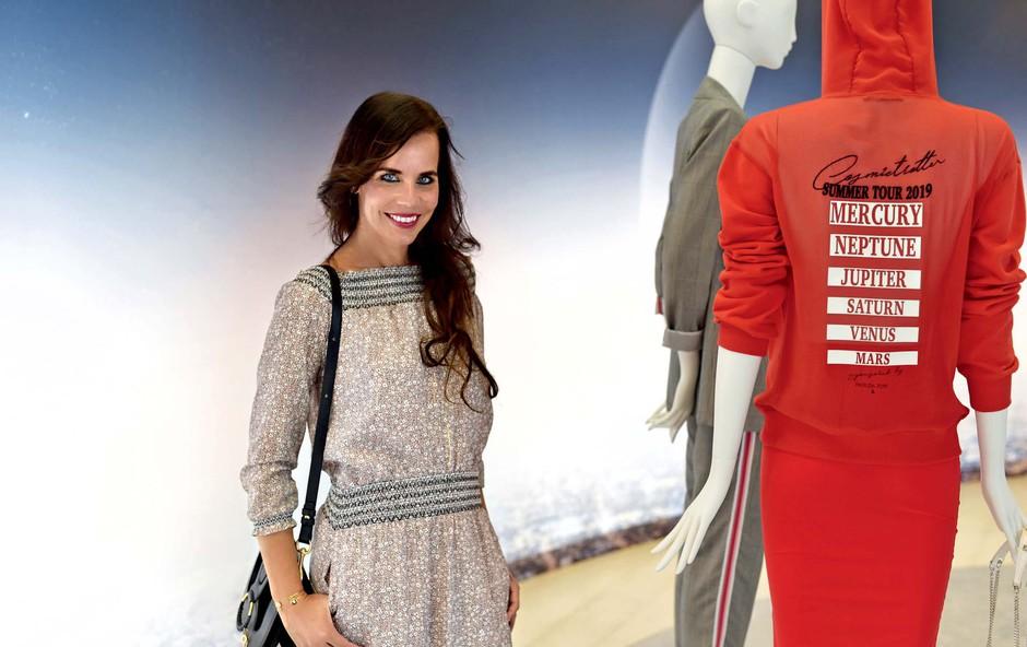 Lorella Flego v Milanu preverjala modne trende (foto: Zen)