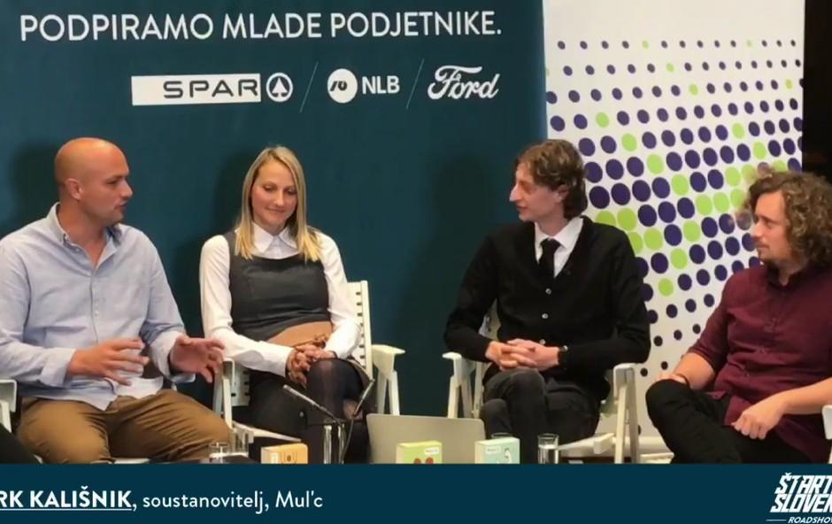 Mark Kališnik in Tina Berlec o Mul'cu z Matijo Goljarjem in gosti na Roadshow Live (foto: Facebook Štartaj Slovenija)