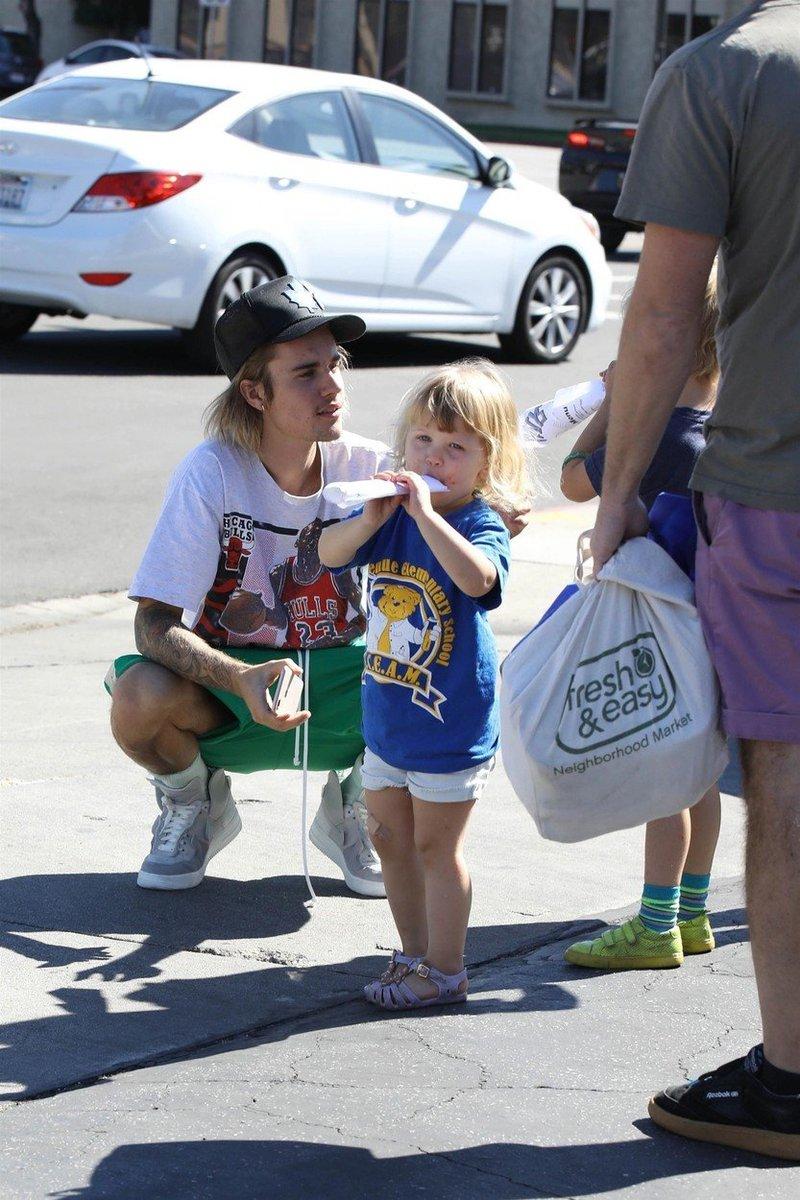 Justin in otrok