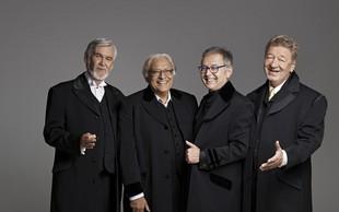 New Swing Quartet v prazničnem razpoloženju na velikem odru Cankarjevega doma