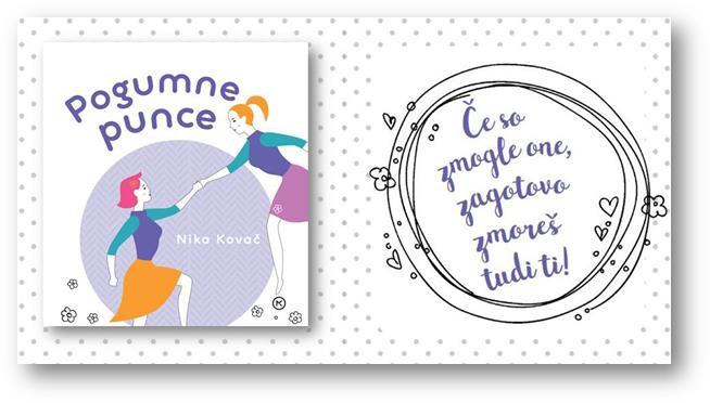 Knjiga za pogumne, srčne, navihane in odločne punce, ki spreminjajo svet! (foto: emka.si, mladinska knjiga)