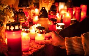 Množično prižiganje sveč v spomin pokojnikom: Premislite, preden prižgete