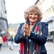 Tereza Kesovija praznovala osemdeset let