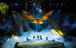 Cirque du Soleil in Toruk - The First Flight kmalu v Zagrebu