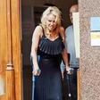 Pamela Anderson se je poškodovala med plesom