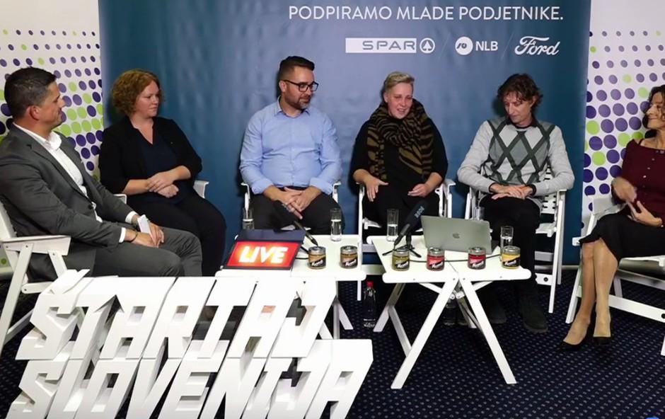 Valentina in Uroš Kavčič o Marmeli z Matijo Goljarjem in gosti na Roadshow Live (foto: Facebook Štartaj Slovenija)