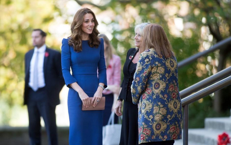 Kate Middleton nikoli ni bila tako zelo vitka, želi si biti vitkejša kot Meghan Markle (foto: Profimedia)