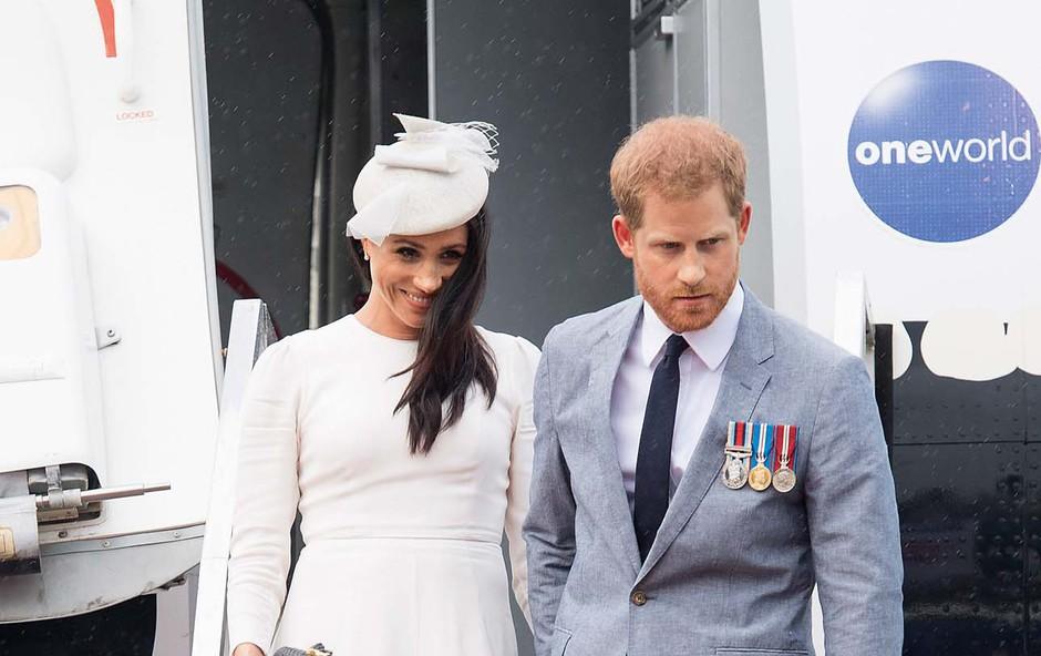 Princ Harry in Meghan Markle sta prestavila turnejo po Ameriki (foto: Profimedia)