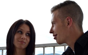 Tamara Korošec in Renato Lužar spet skupaj in zdaj je z njima še ta mali lepotec