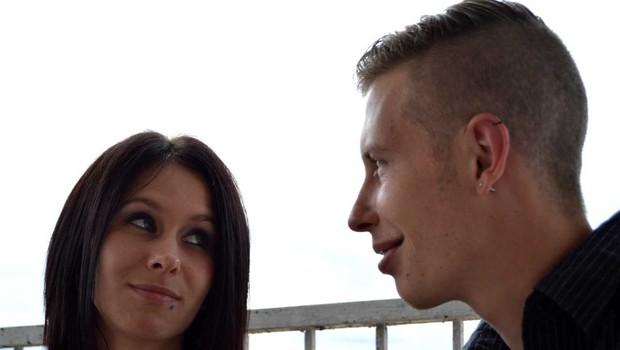 Tamara Korošec in Renato Lužar še nikoli tako zaljubljena (foto: Aleš Rod)