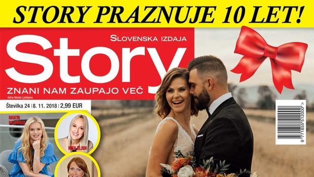 """Teja Perjet in Jani Jugovic: """"Lahko bi bila večno zaročena!"""" (foto: Story)"""