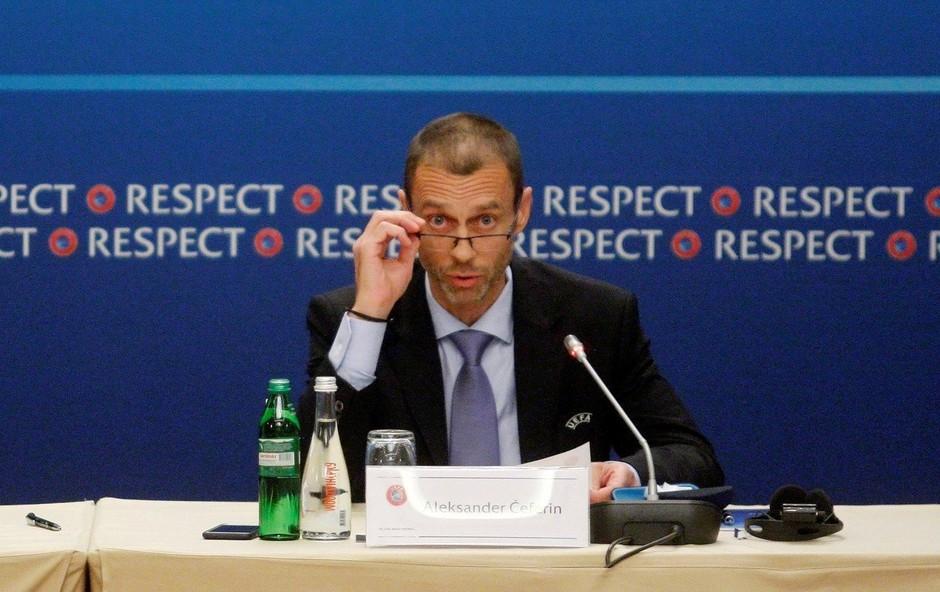 Aleksander Čeferin edini kandidat za predsednika Uefe (foto: profimedia)