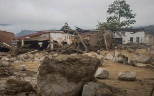 Po močnem deževju v Braziliji zemeljski plaz pokopal najmanj deset ljudi
