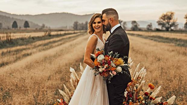 Poroka Teje Perjet in Janija Jugovica bo na prav poseben dan! (foto: Jana Šnuderl)