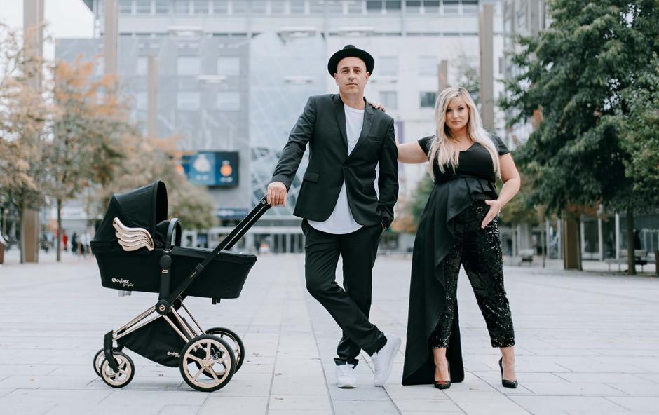 Boštjanu Čukurju (6Pack Čukur) in Niki se je pridružila deklica Flora (foto: Luka Švigelj in Iris Brglez za Sviglo Production)