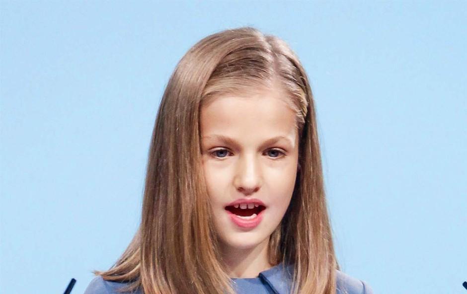Princesa Leonorje imela svoj prvi govor (foto: Profimedia)