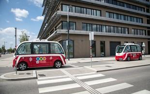 Dunajski samovozeči avtobusi uspešno prestali testiranje