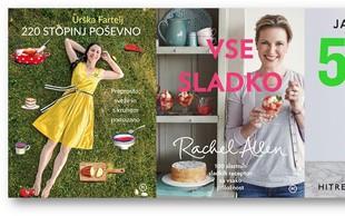 3 nove kuharice, med katerimi je tudi knjiga priljubljene blogerke Urške Fartelj!