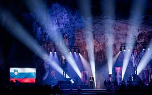 Blišč in glamur ob 200-obletnici Postojnske jame
