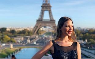 Lara Kalanj spoznavala romantični Pariz