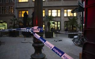 Pred bruseljsko policijsko postajo moški zabodel policista
