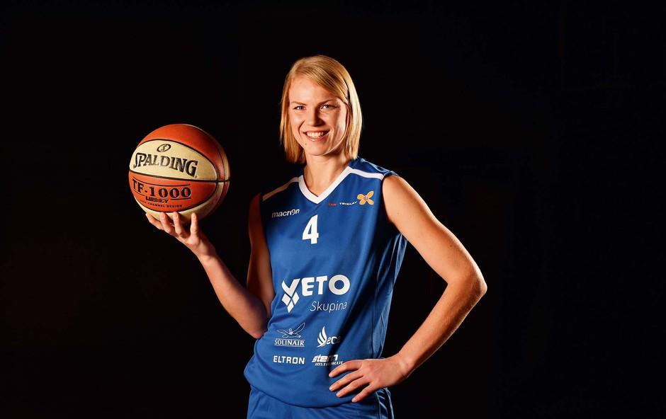 Živa Zdolšek iskreno o ženski košarki (foto: Sibil Slejko)