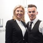 Direktorica podjetja Skaza Tanja Skaza je velika podpornica dela Marka Hriberška. (foto: Rok Rakun)