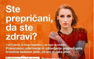 Slovenija brez tihega ubijalca, hepatitisa C!