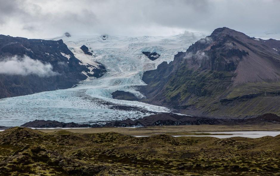Islandija: Zaradi mikrobov se na ledeniku sprosti do 41.000 ton metana dnevno! (foto: Profimedia)