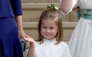Mala princesa Charlotte je čista kopija nečakinje princese Diane