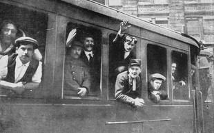 Leta strahote, ki smo jih Slovenci živeli (in preživeli) v prvi svetovni vojni!