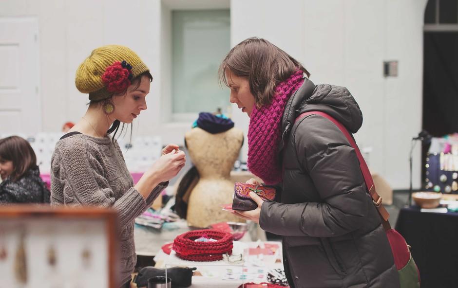ARTish market se pred zimo umika v vilo Čira Čara in Pionirski dom! (foto: ARTish Press)
