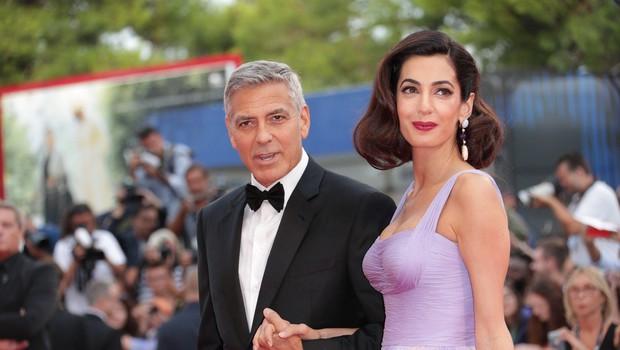George Clooney in Amal prepričana, da bosta botra prvega otroka princa Harryja in Meghan Markle (foto: Profimedia)