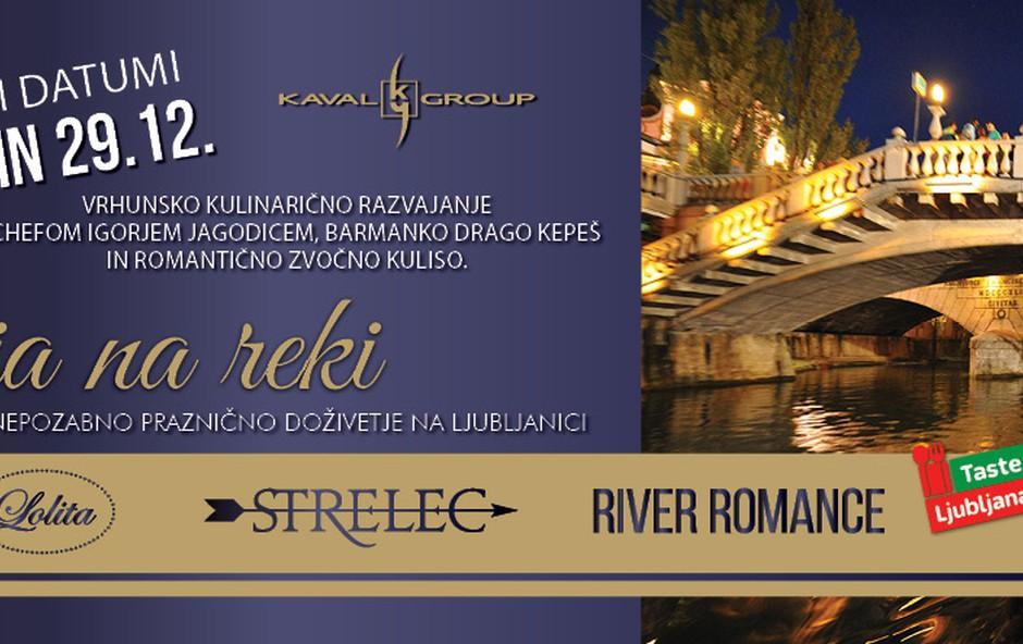 Kulinarična večerja na reki z Igorjem Jagodicem in Mojmirjem Šiftarjem (foto: Jagodic Siftar, Press)