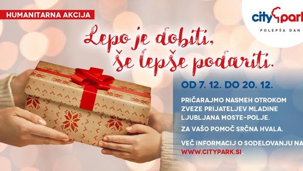 Z obiskom Miklavža Citypark naznanja tradicionalno humanitarno akcijo, s katero bodo osrečili otroke (foto: Citypark Press)