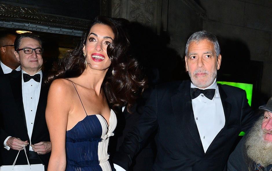Amal Clooney spet pritegnila pozornost s svojo eleganco! (foto: Profimedia)