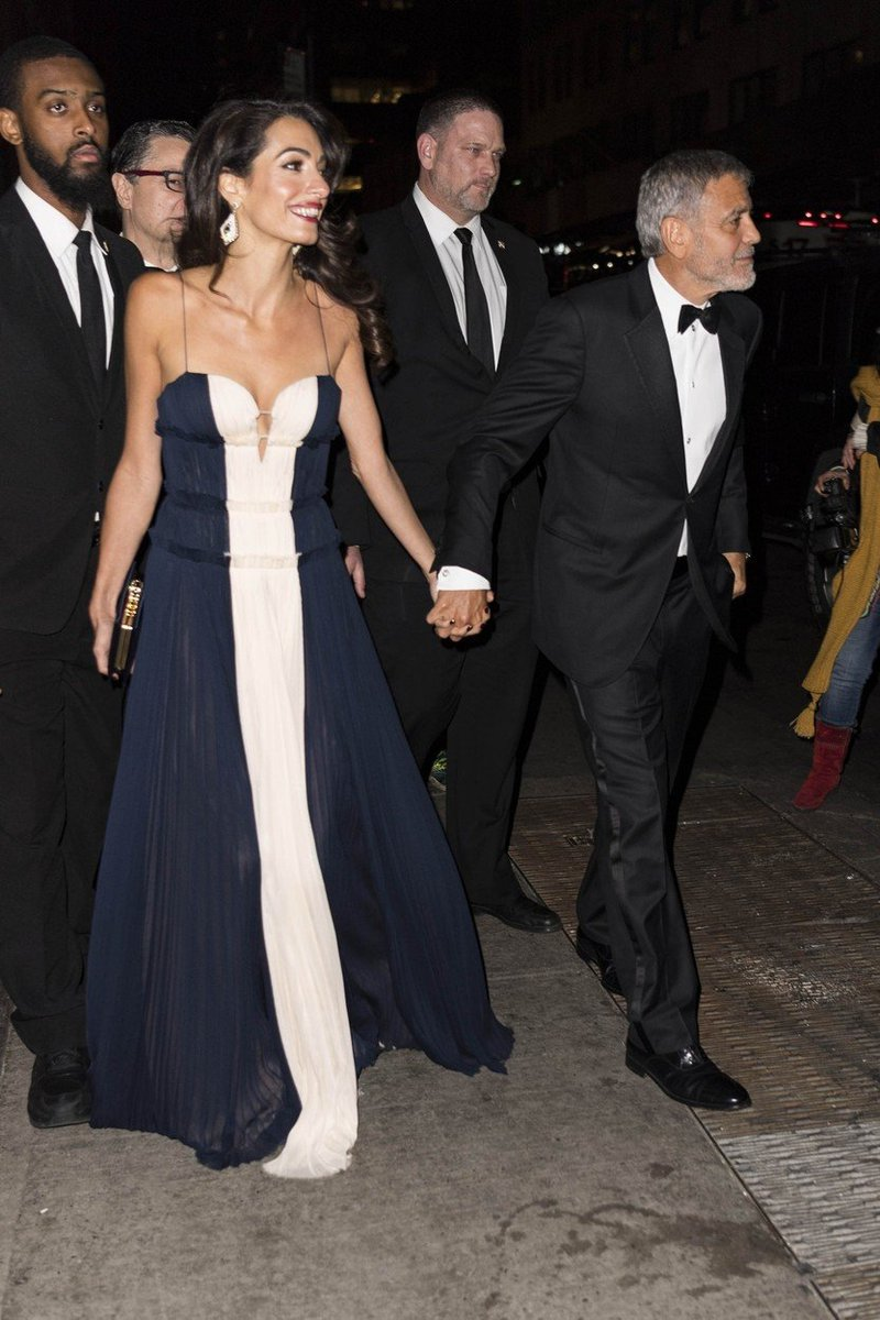 Amal in George Clooney