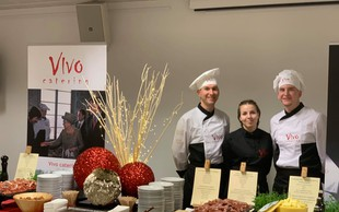 Ekipa Vivo cateringa razvajala brbončice v Bruslju!