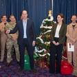 Princ William se je šalil na račun Kate Middleton in jo celo primerjal z božičnim drevescem