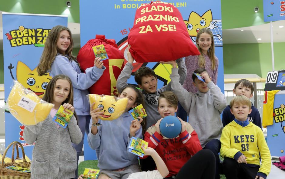 Sladki praznični trenutki s Šumijem za vse otroke (foto: Žito Press)