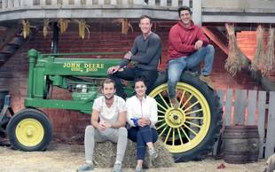 Finalisti letošnje Kmetije so  Aneta, Denis, Franko in Nik