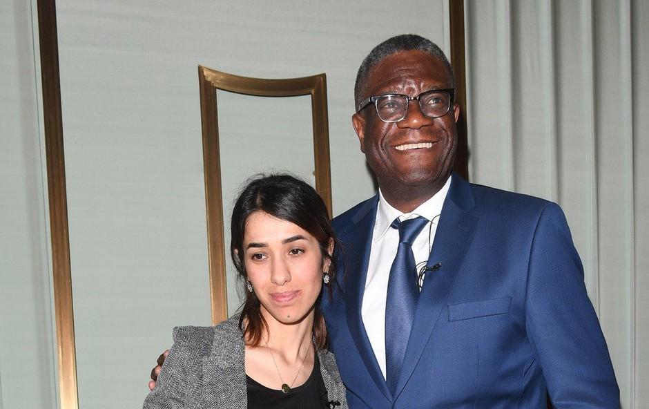 Ob podelitvi Nobelove nagrade za mir pozivi za zaščito žensk v konfliktih in k boju proti ravnodušnosti (foto: profimedia)