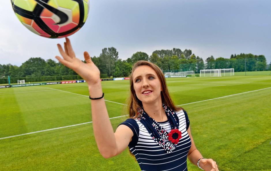 Lara Prašnikar prihaja iz slavne nogometne družine (foto: Igor Zaplatil)