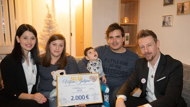 Sklad Viljem Julijan je otrokom z redkimi boleznimi podaril že 15.000€ (foto: Sklad Viljem Julijan)