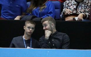 Takšen lepotec je danes sin Davida Beckhama